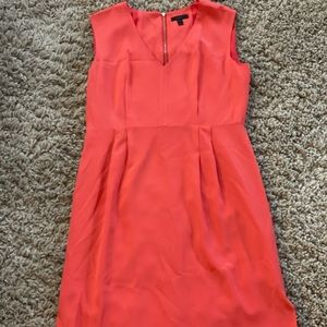 J. CREW gorgeous coral silk dress